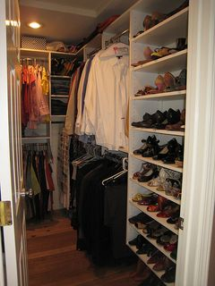New closet (RH side)