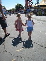 Friends at the fair.