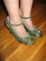 Sandi's shoe