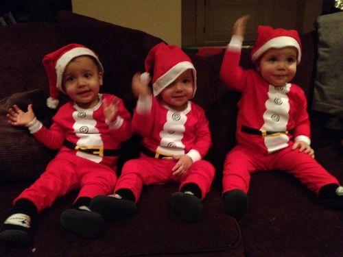 Santa3heads
