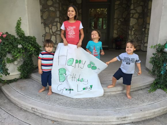 Happy Birthday Grandpa Larry