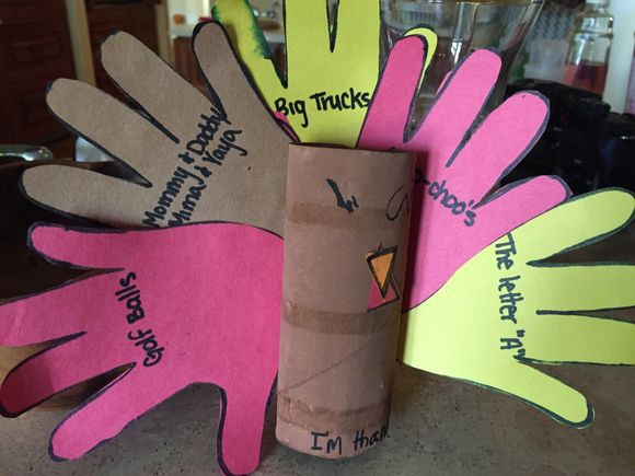 What Amelia, Antonio, Harris & Lawrence are thankful for