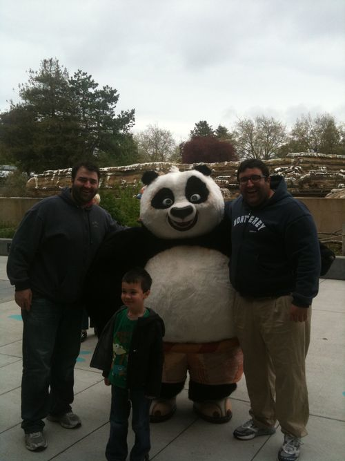 Jeff and matt panda